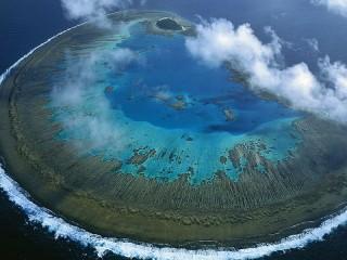 Собирать пазл Коралловый остров онлайн
