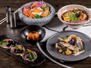 Собирать пазл Корейская кухня онлайн