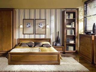 Собирать пазл Коричневая спальня онлайн