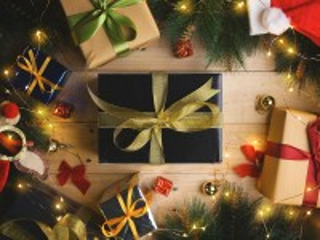 Собирать пазл Коробки с подарками онлайн