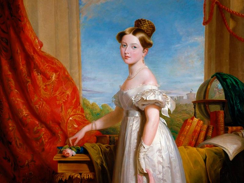 Пазл Собирать пазлы онлайн - Королева Виктория
