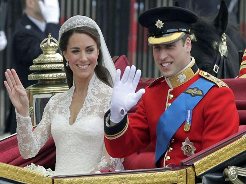 Пазл Собирать пазлы онлайн - Королевская свадьба