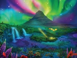 Собирать пазл Космические фантазии онлайн