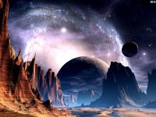 Собирать пазл Космический ландшафт онлайн