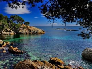 Собирать пазл Море. Коста-Брава онлайн