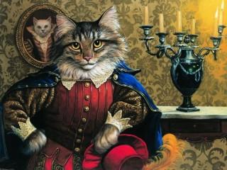 Собирать пазл Кот в сапогах онлайн