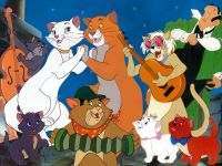 Собирать пазл Коты-аристократы онлайн