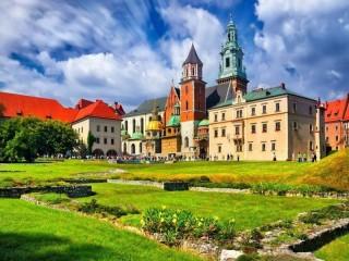 Собирать пазл Краков онлайн
