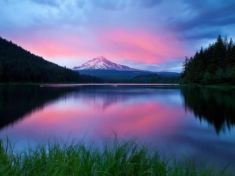 Пазл Собирать пазлы онлайн - Красивое озеро