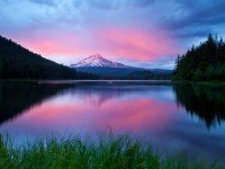 Собирать пазл Красивое озеро онлайн