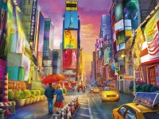 Собирать пазл Краски города онлайн