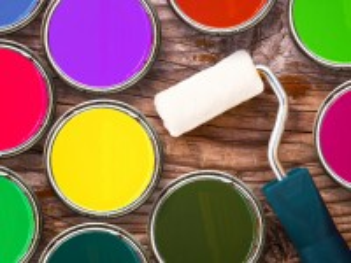 Собирать пазл Краски и валик онлайн