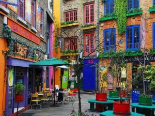 Собирать пазл Краски Лондона онлайн