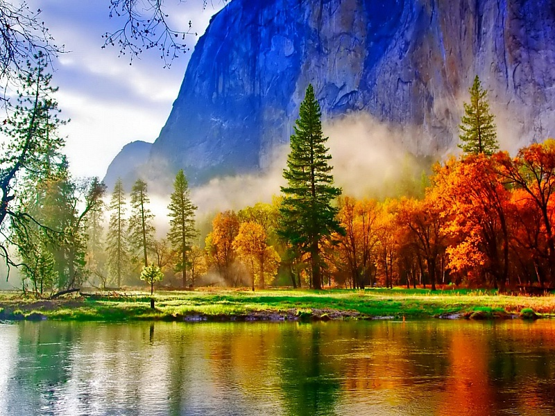 Пазл Собирать пазлы онлайн - Краски природы