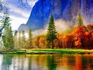Собирать пазл Краски природы онлайн