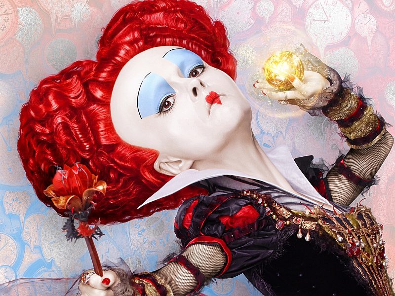 Пазл Собирать пазлы онлайн - Красная королева