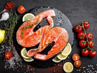 Собирать пазл Красная рыба онлайн
