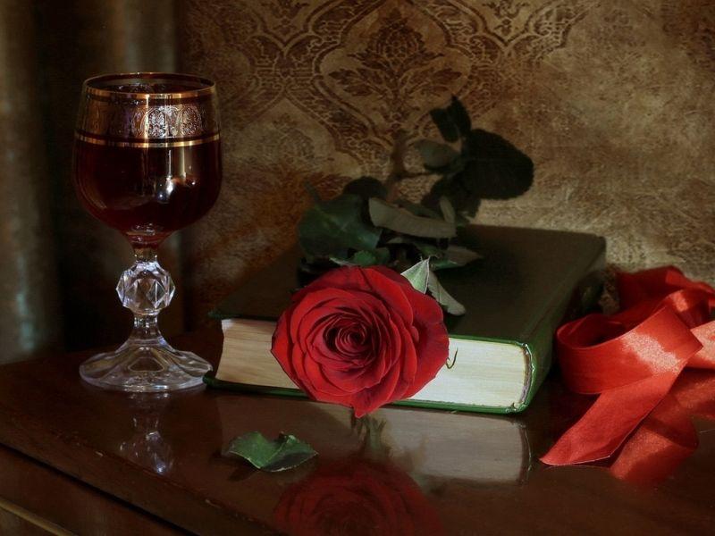 Пазл Собирать пазлы онлайн - Красная роза