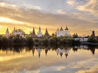 Собирать пазл Кремль в Измайлово онлайн
