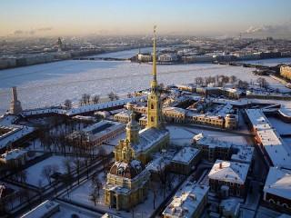 Собирать пазл Петропавловская крепость онлайн