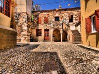 Собирать пазл Крепость Хиоса онлайн