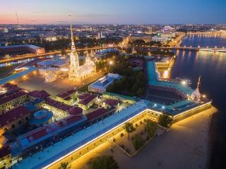 Собирать пазл Крепость на Неве онлайн
