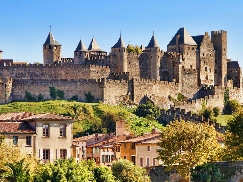 Пазл Собирать пазлы онлайн - Крепость во Франции