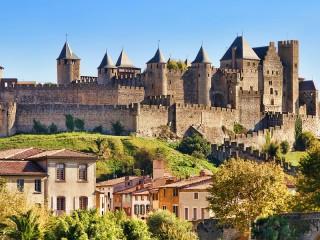 Собирать пазл Крепость во Франции онлайн