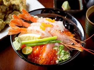Собирать пазл Креветки по-японски онлайн