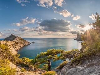 Собирать пазл Крым онлайн