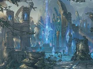Собирать пазл Кристаллы магии онлайн