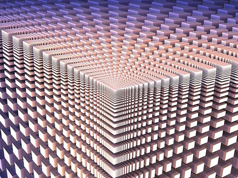 Пазл Собирать пазлы онлайн - Кубический фрактал
