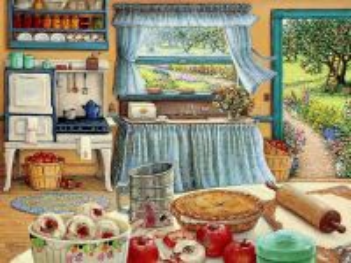 Собирать пазл Кухня онлайн