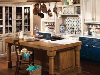 Собирать пазл Кухня в стиле кантри онлайн