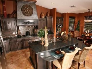 Собирать пазл Кухонный интерьер онлайн
