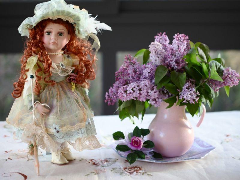 Пазл Собирать пазлы онлайн - Кукла