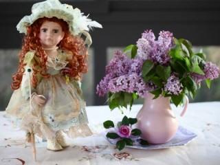 Собирать пазл Кукла онлайн