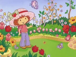 Собирать пазл Кукла Strawberry Shortcake  онлайн