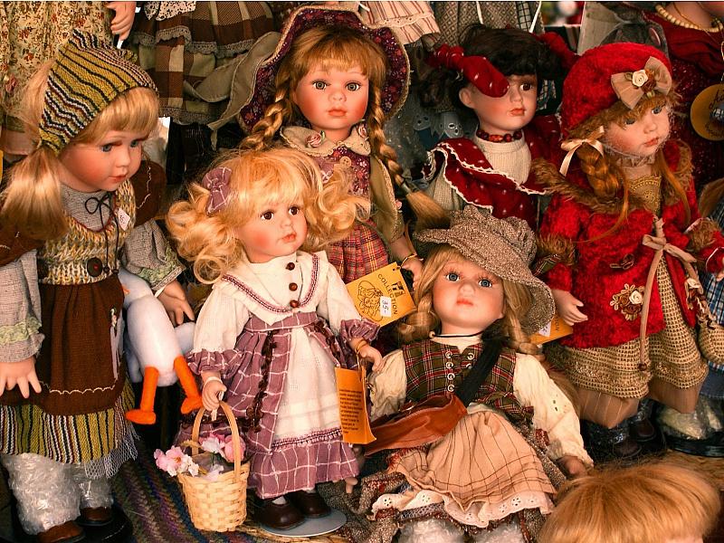 Пазл Собирать пазлы онлайн - Куклы