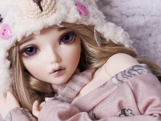 Собирать пазл Куколка онлайн