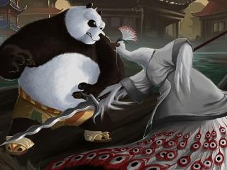 Собирать пазл Kung Fu Panda онлайн