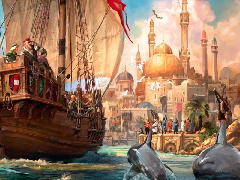 Пазл Собирать пазлы онлайн - Купеческий корабль