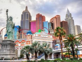 Собирать пазл Лас Вегас онлайн
