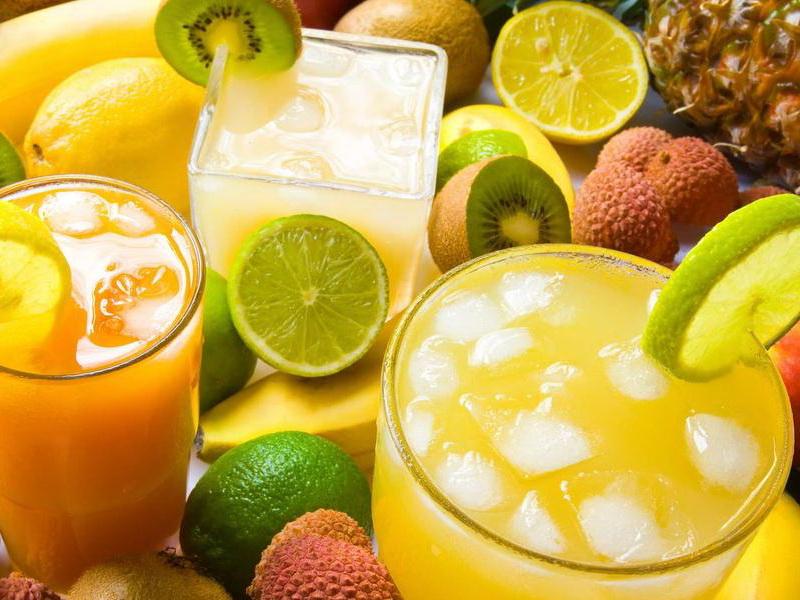 Пазл Собирать пазлы онлайн - Лайм лимон ананас