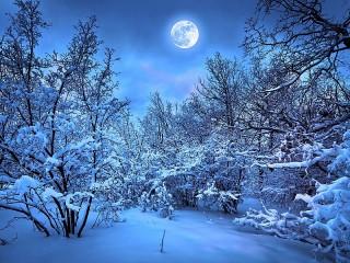 Собирать пазл Лазурная луна онлайн