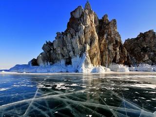 Собирать пазл Ледяной Байкал онлайн