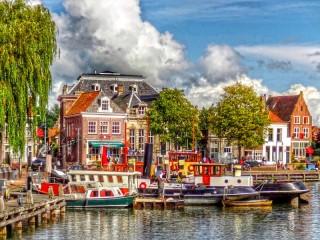 Собирать пазл Лейден Нидерланды онлайн