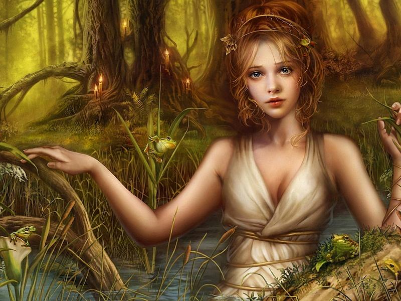 Пазл Собирать пазлы онлайн - Лесной дух