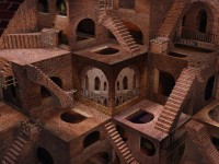 Собирать пазл Лестницы и арки онлайн