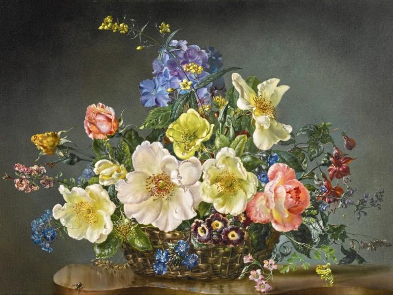 Пазл Собирать пазлы онлайн - Летние цветы